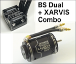 BS Dual 10.5T + XARVIS BLACK Combo